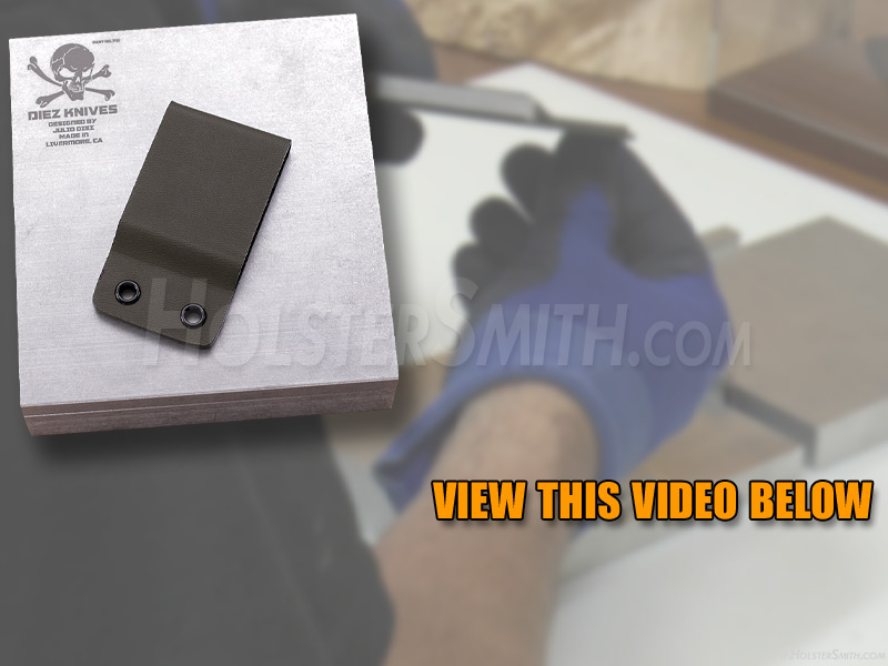 DIY Video - How to Make a KYDEX® Belt Loop Attachment