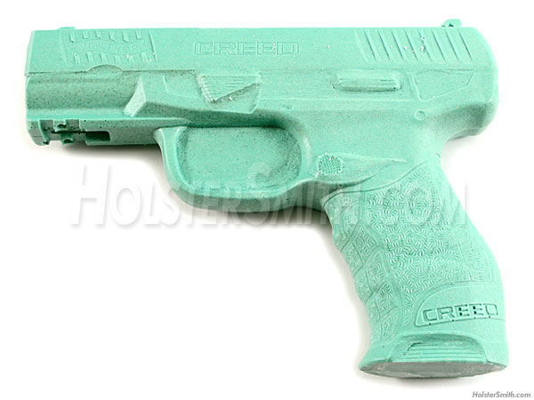 HolsterMolds® - Holster Molding Prop - for Walther Creed